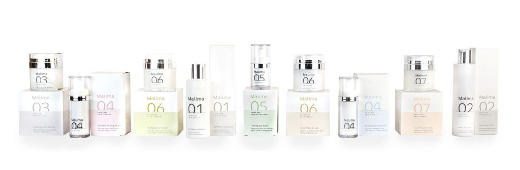 Malima producten van @Mirelle Beauty & Health