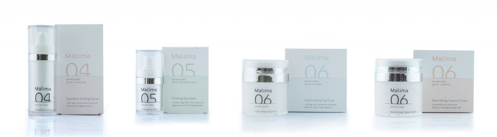 verkoop producten Malima @Mirelle Beauty & Health